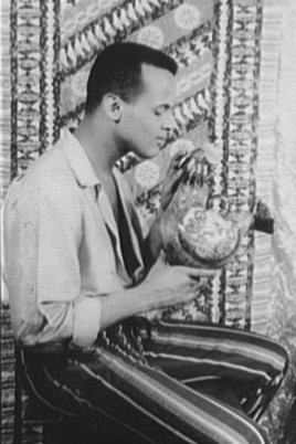 Portrait of Harry Belafonte, actor at hollywoo...