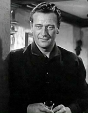 Screenshot of John Wayne from the trailer for ...