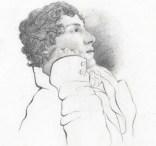 Portrait of John Keats by his friend Charles B...