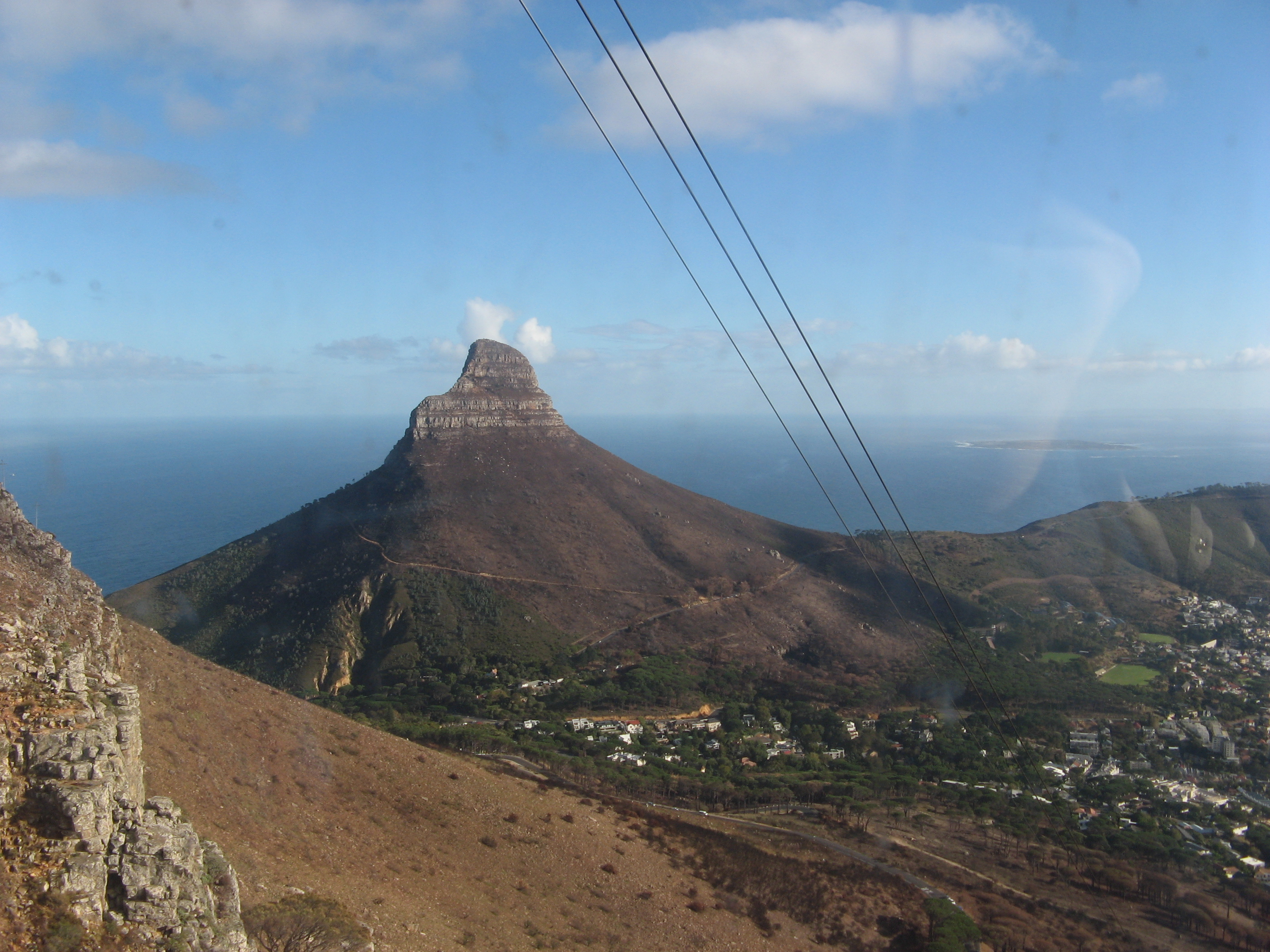 English: View from the Table mountain, Capetow...