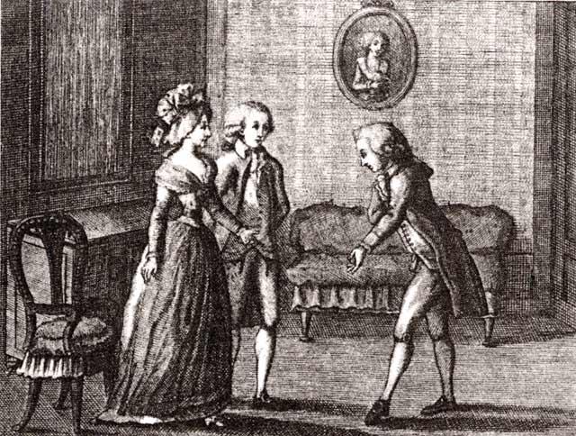 Luigi Ponelato, Il cicisbeo, 1790