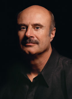 Phil McGraw photographed for the cover of News...