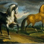 File Theodore Gericault Two Horses Google Art Project Jpg Wikimedia Commons