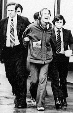 Timothy Leary Arrested by two policemen