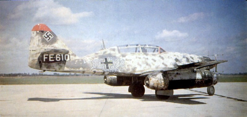 Me 262 B-1a/U1 night fighter (converted traine...