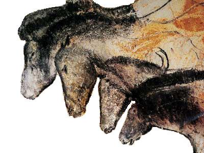 Chauvet Cave, France. Horses. Circa 31,000 ago