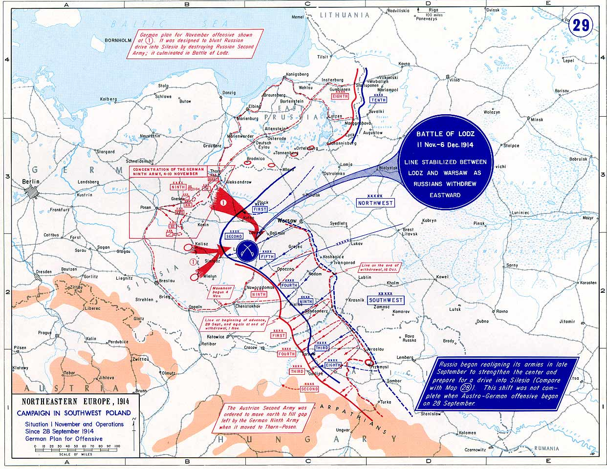 DECEMBER 6, 1914 – THE BATTLE OF LODZ | My (random and mostly ...
