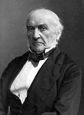 William Ewart Gladstone, Prime Minister of the...