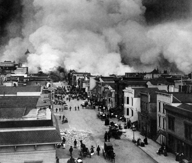 Fires Of The 1906 San Francisco Earthquake