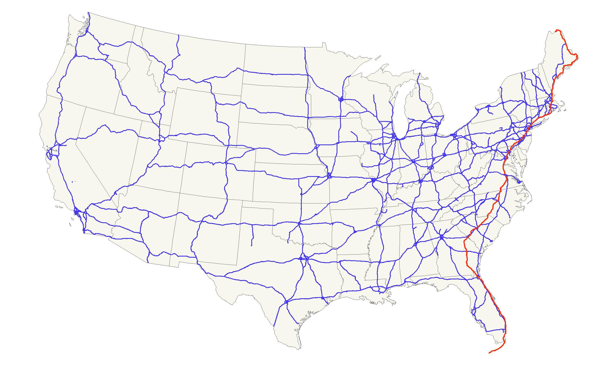 U S Route 1 Wikipedia