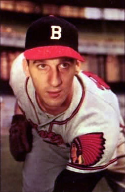 English: Boston Braves pitcher and Hall of Famer .