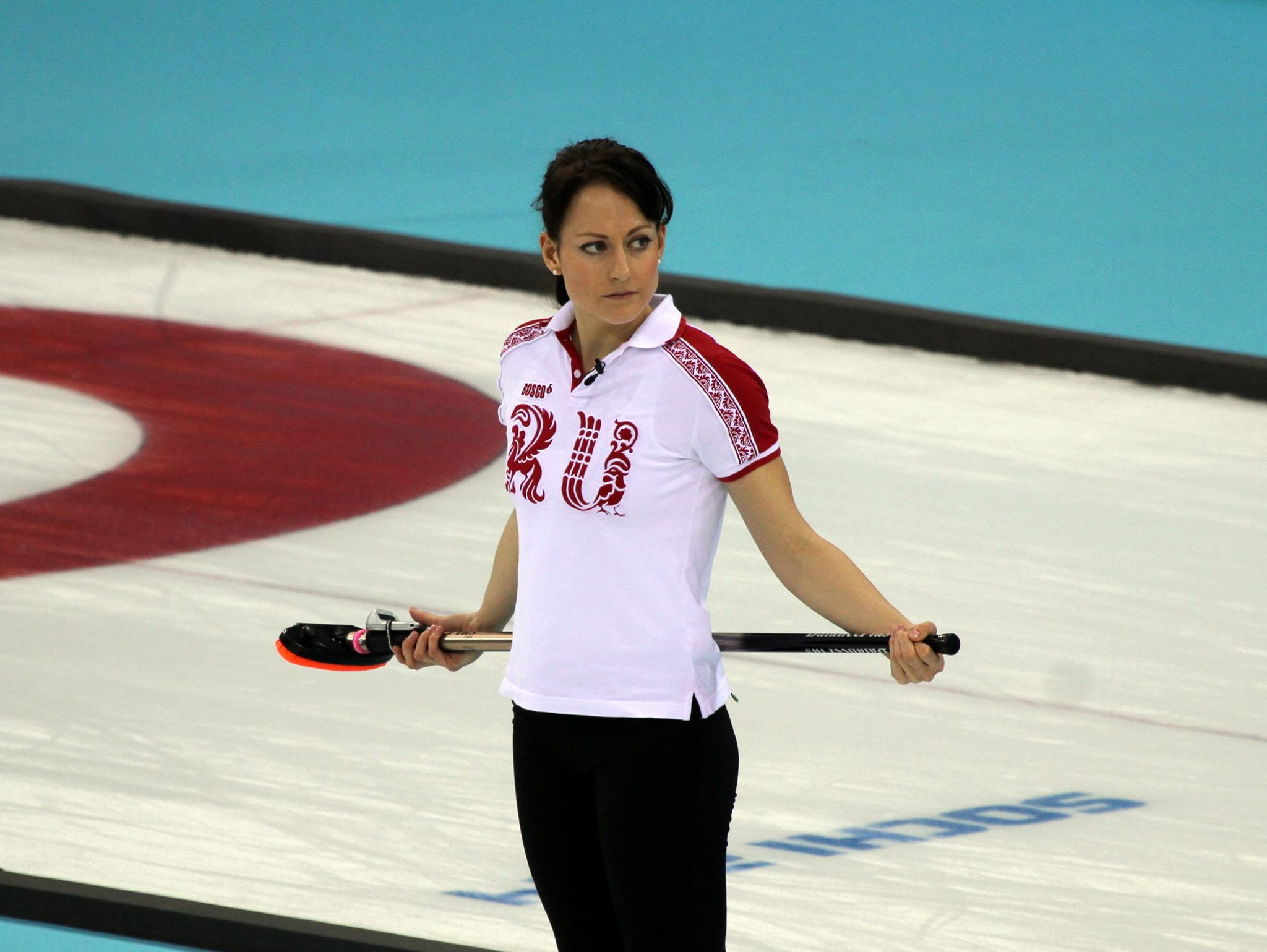 Women S Curling At The Winter Olympics Russia 5