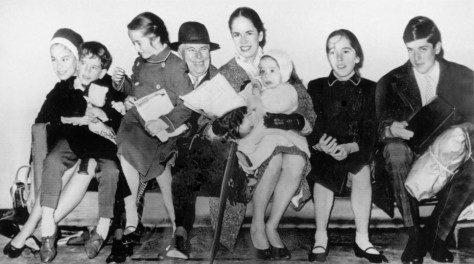 Chaplin family 1961.jpg