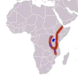 Localización del Valle del Rift en África