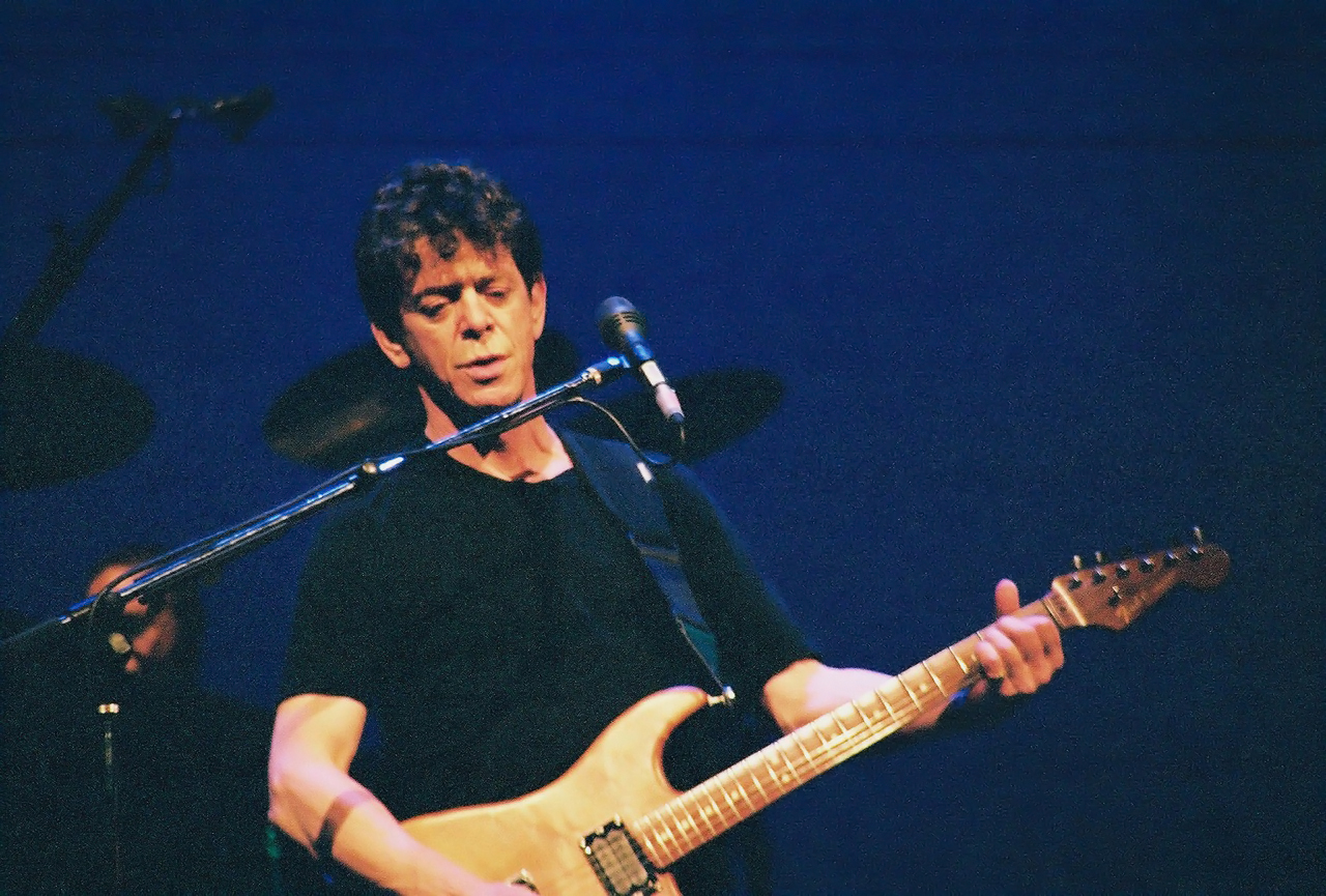 Lou Reed. Schinitzer Concert Hall Portland, OR