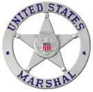 United States Marshal's star badge