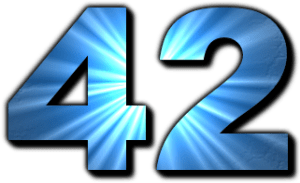 English: 42, The Answer to the Ultimate Questi...