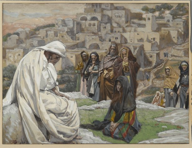 """Jesus Wept"" by James Tissot"