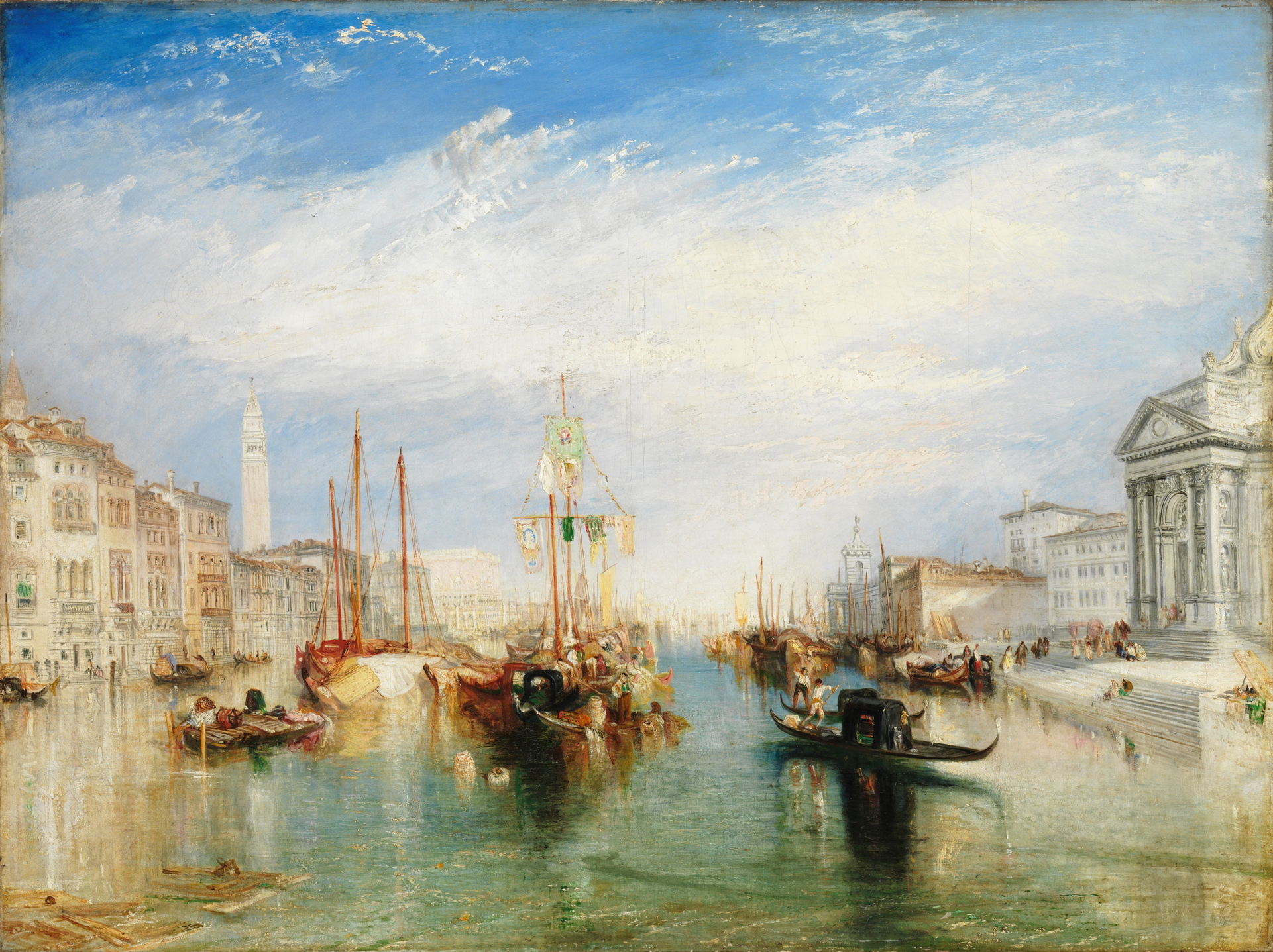 William Turner - The Grand Canal, Venice, 1840