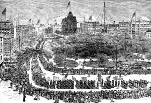 Labor Day New York 1882