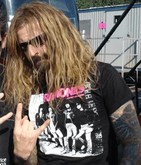 Rob Zombie from Ozzfest.