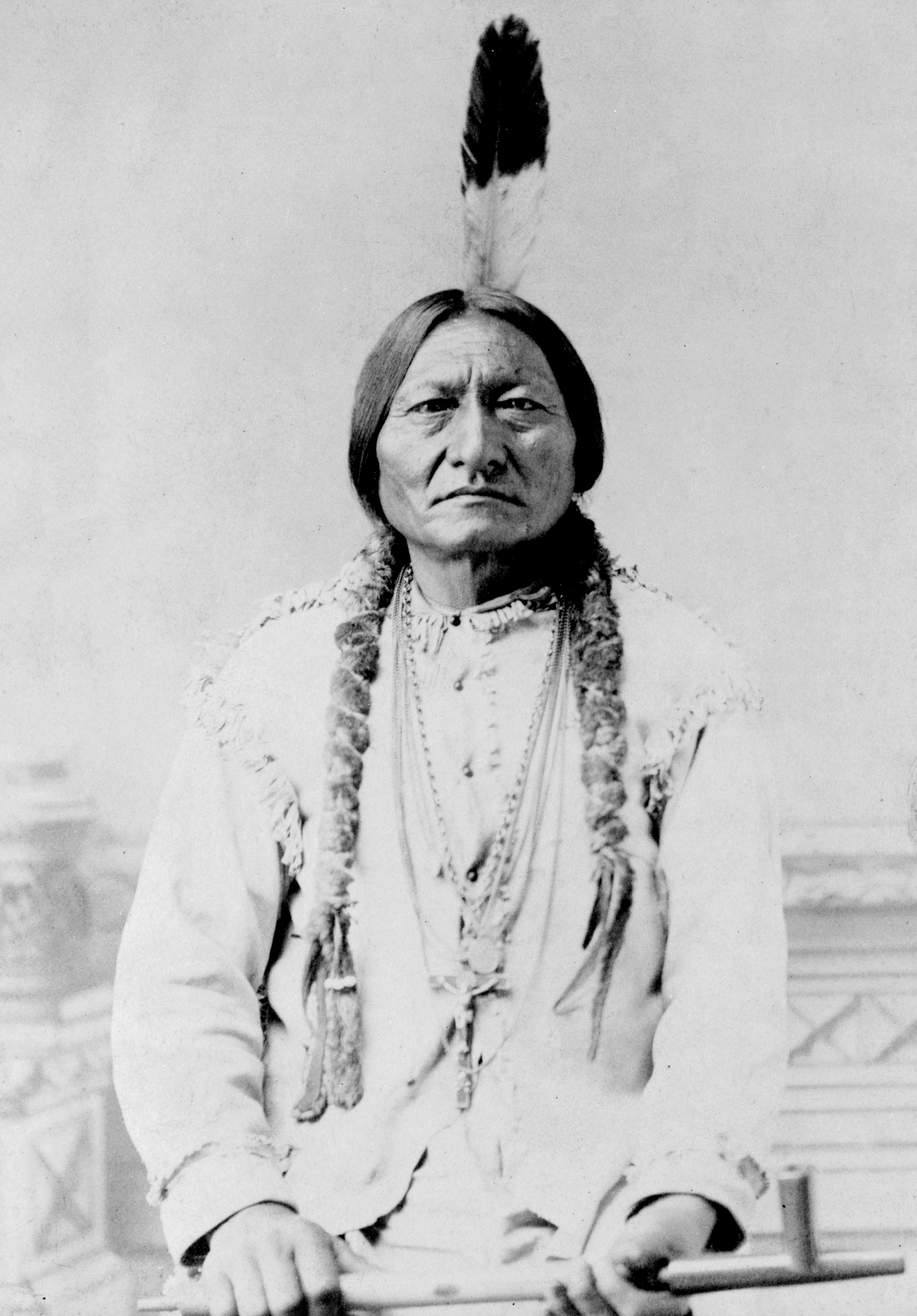 Hunkpapa Sioux Chief Sitting Bull in 1885