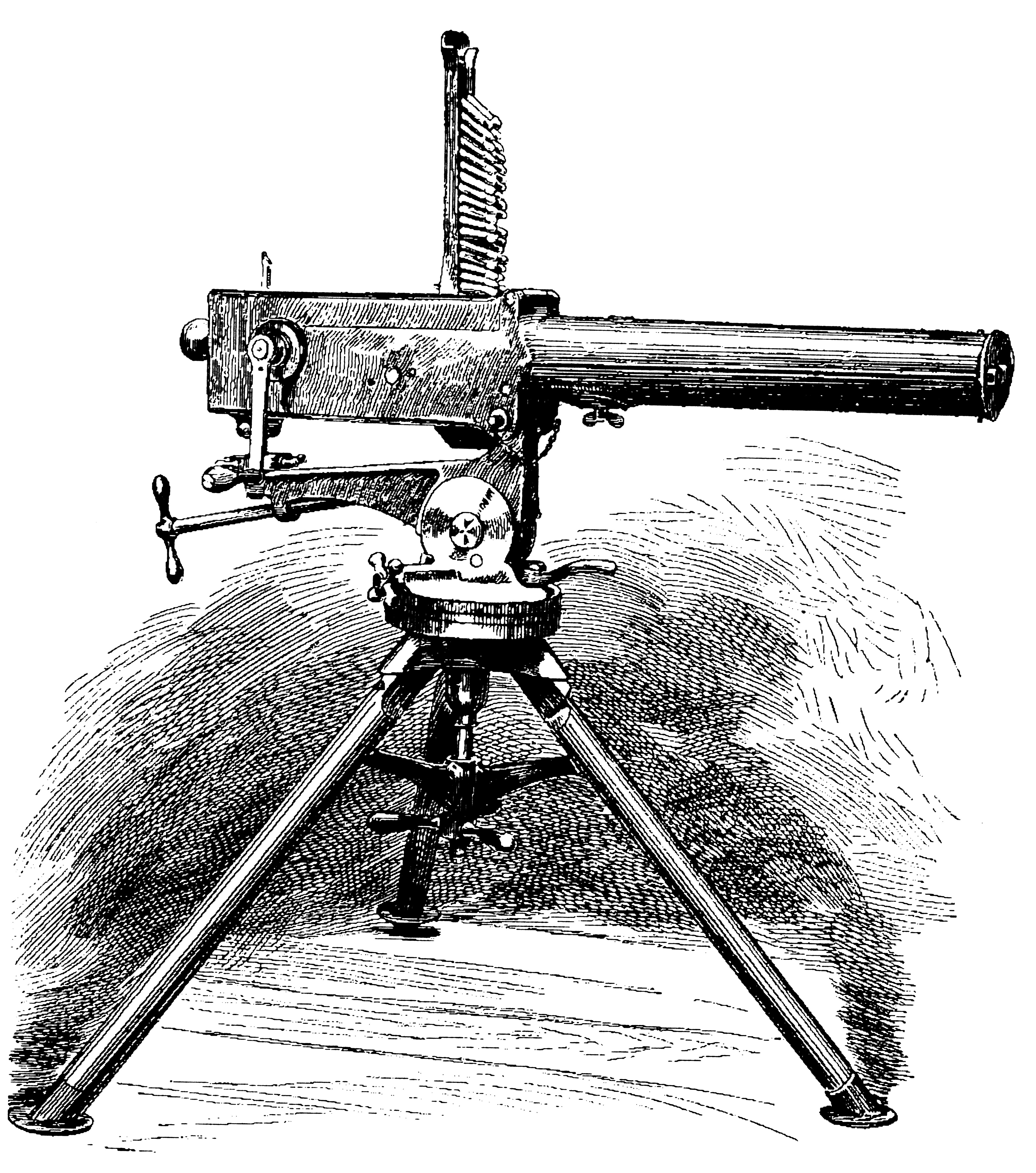 The Gardner Machine Gun