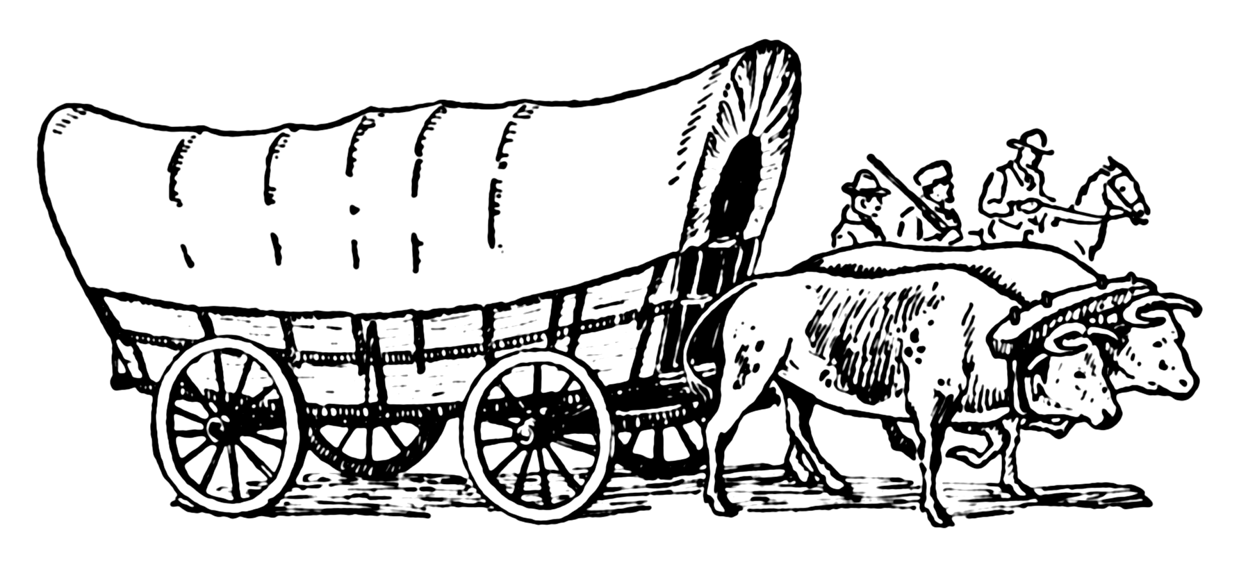 File Covered Wagon Psf