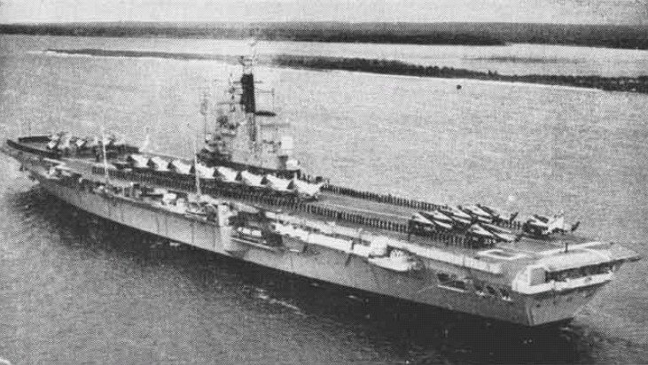 The British Royal Navy aircraft carrier HMS Ce...