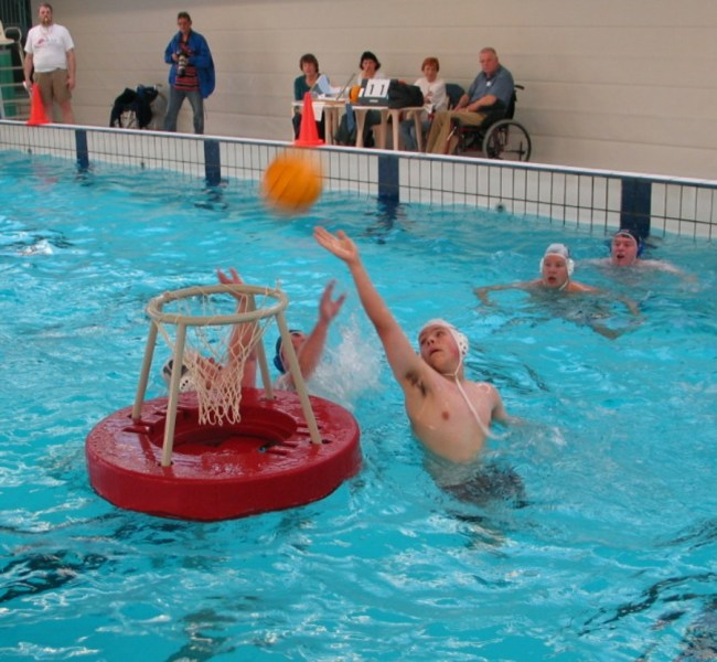 Water basketball   Wikipedia