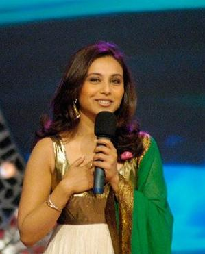 English: Indian actress Rani Mukherjee
