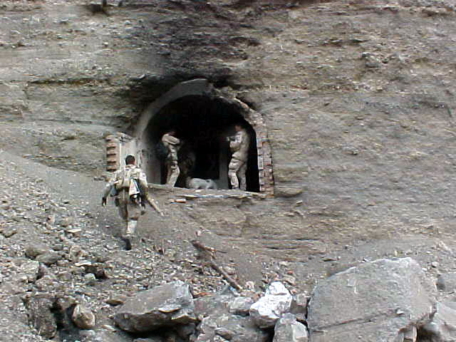 File:US Navy SEALs at Zhawar Kili cave entrance.jpg