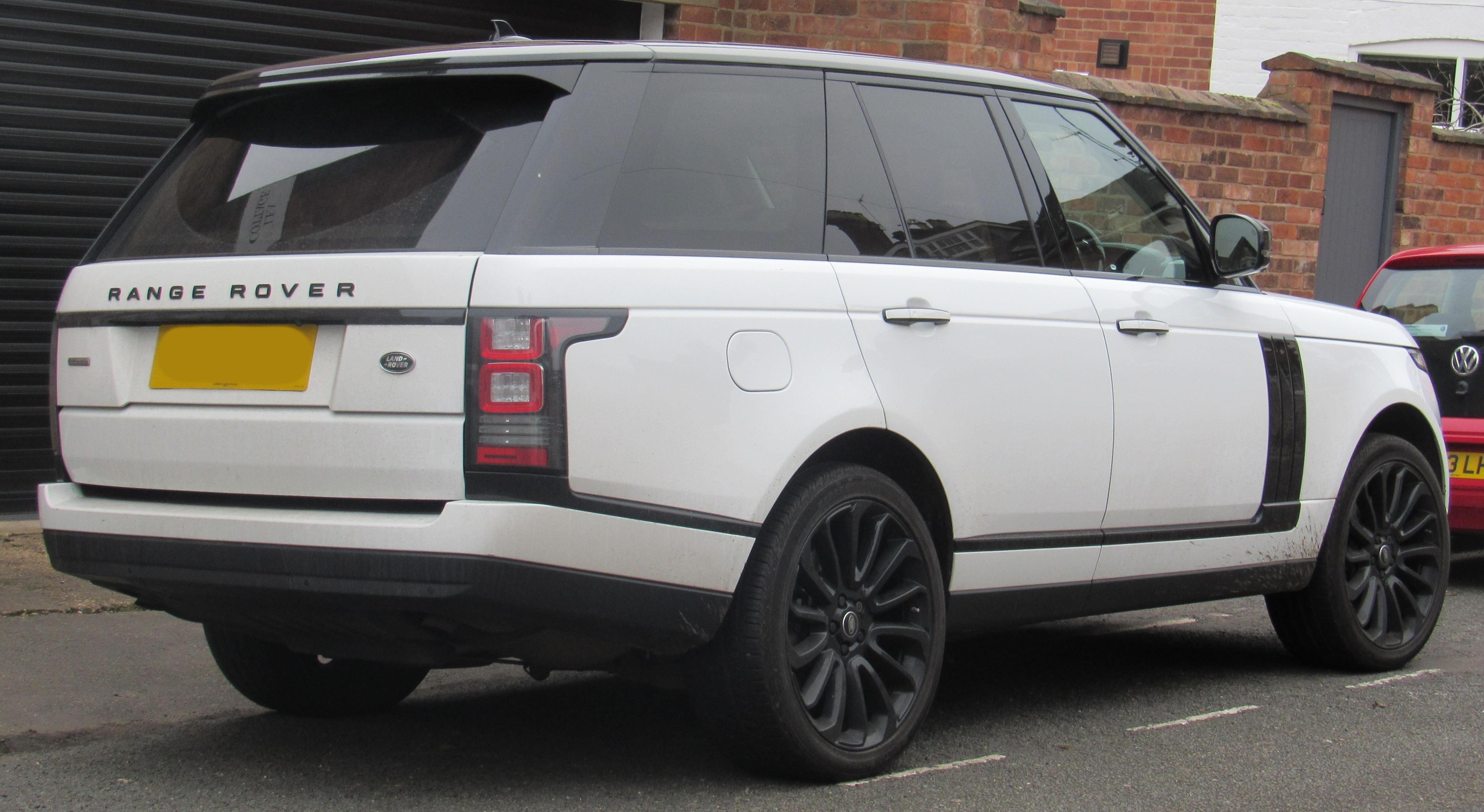 File 2014 Land Rover Range Rover Autobiography 5 0 Rear