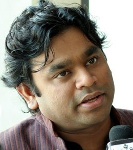 English: Indian composer A.R. Rahman opens the...