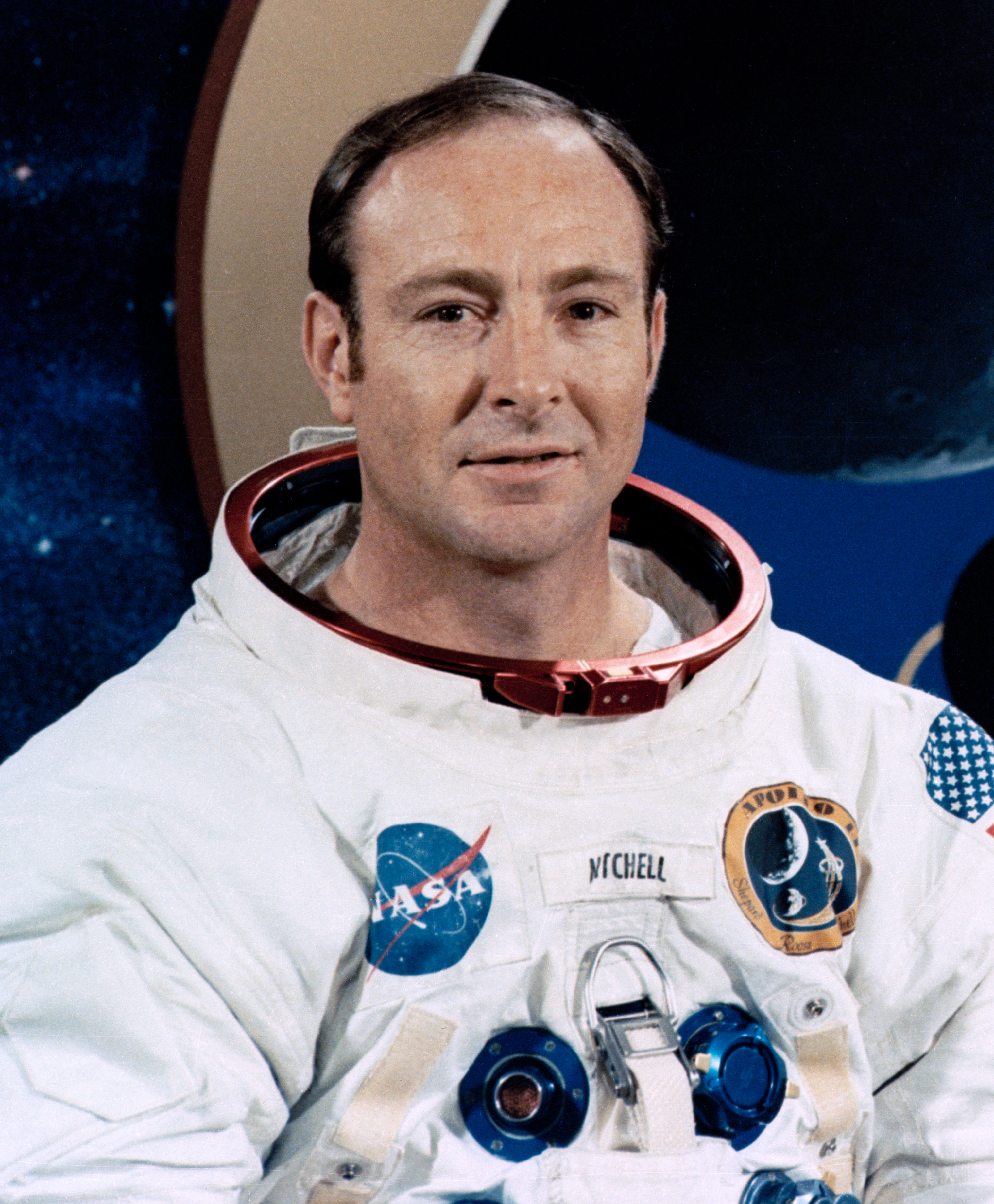 English: Astronaut Edgar Mitchell