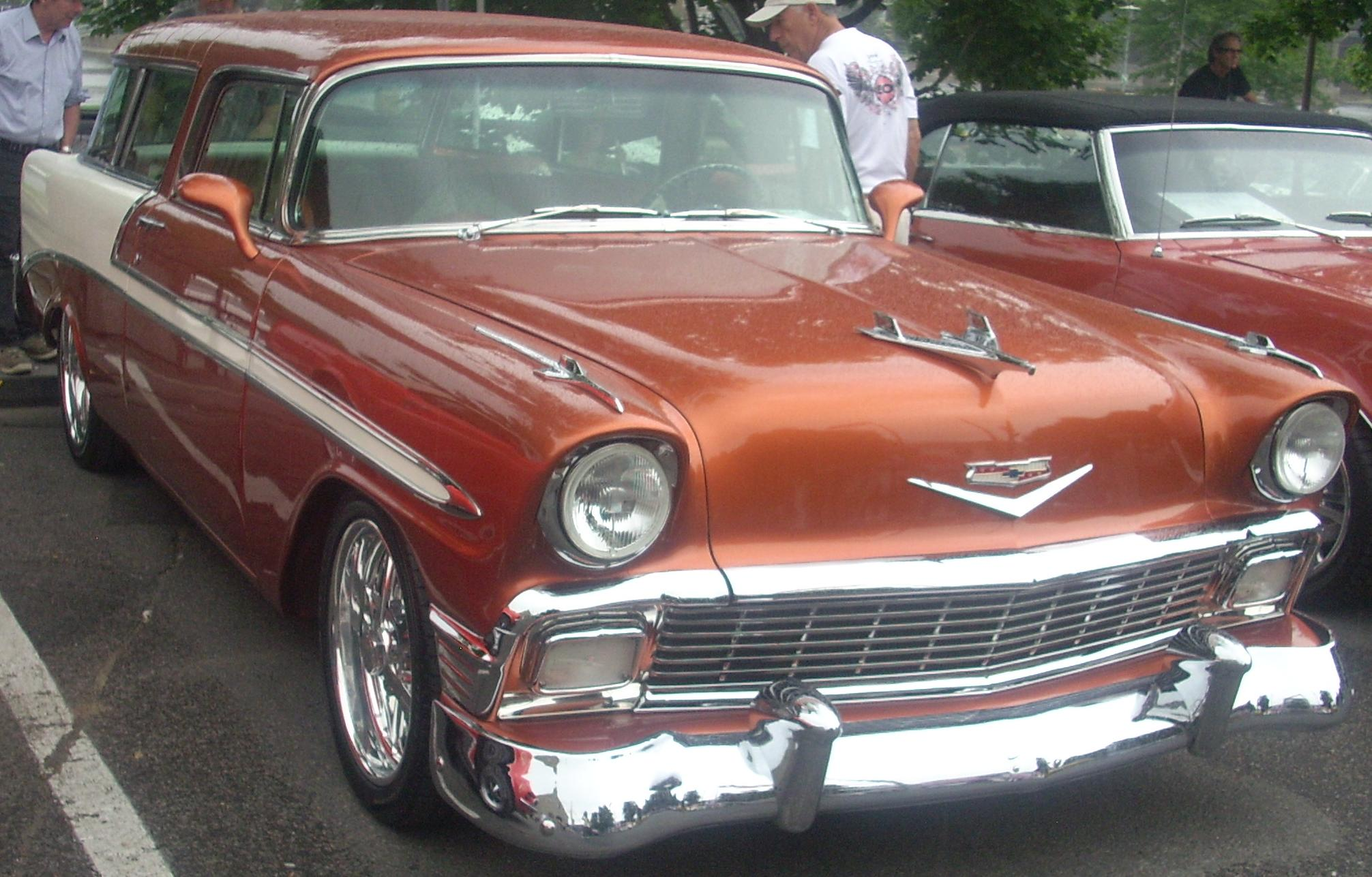 Chevy Bel Air 1956 Nomad
