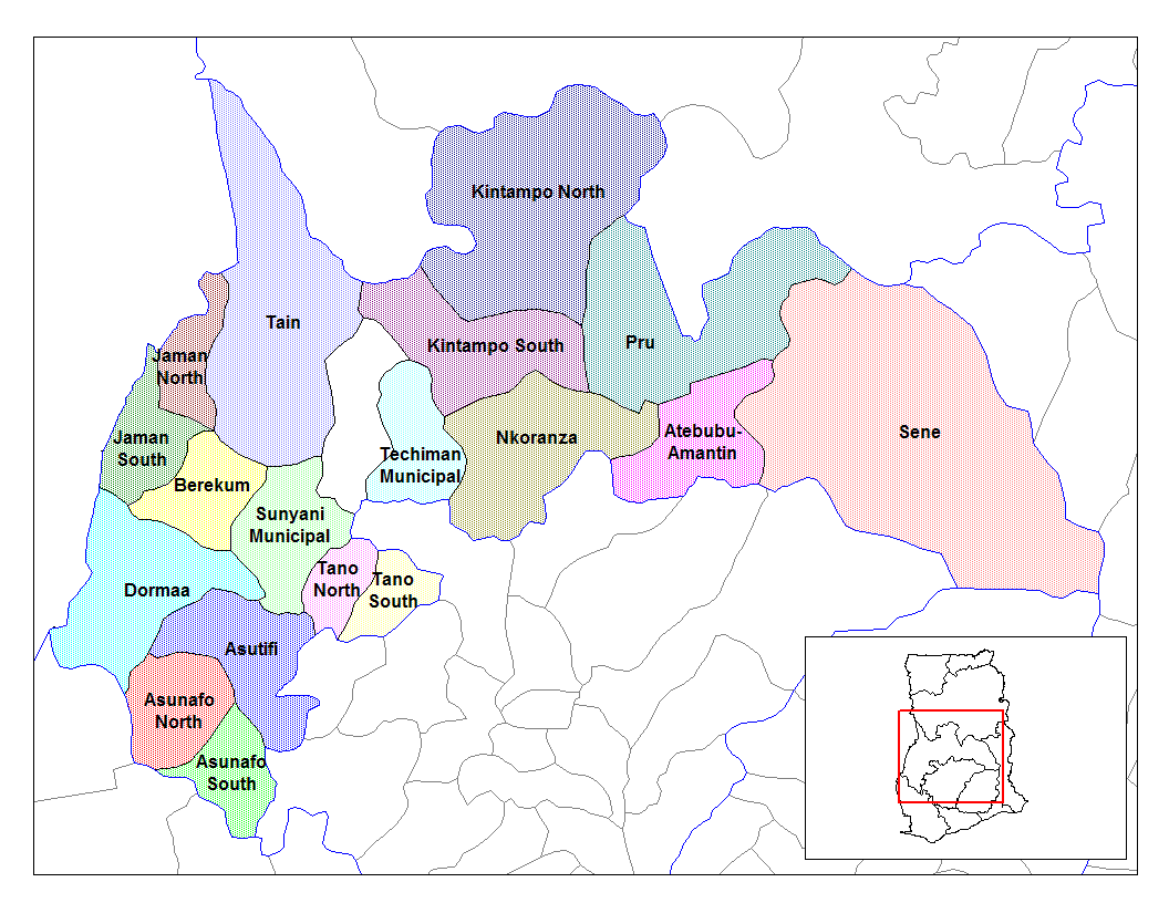 Map South West Region Capitals And Their