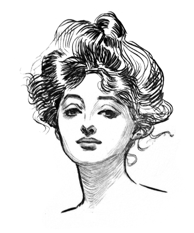 Gibson Girl Hair Tutorial Black Spruce Hound