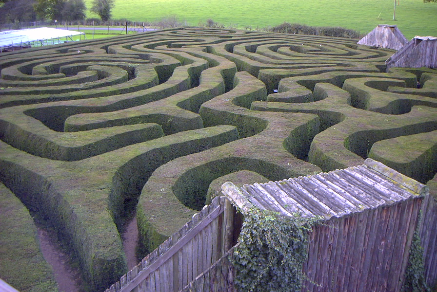 The maze of Longleat House