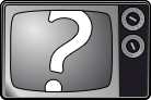 Television in Question Marks.
