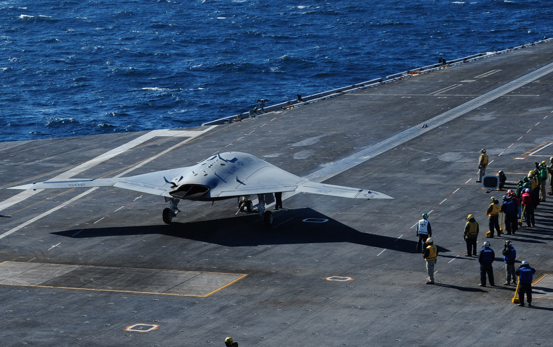 File A U S Navy X 47b Unmanned Combat Air System