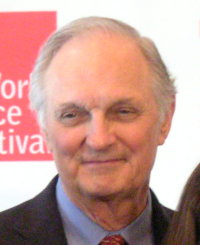 Image of Alan Alda taken at the World Science ...