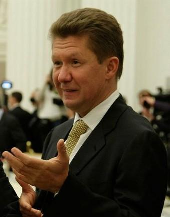 English: Alexey Miller, a Russian businessman....