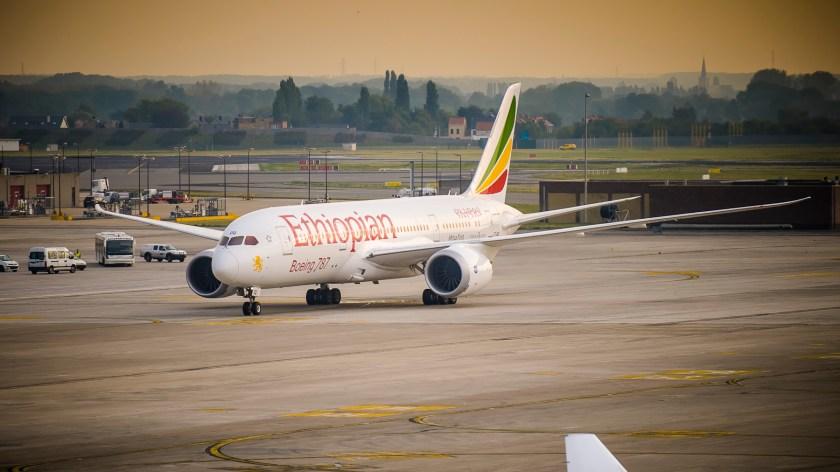 Bildresultat för Ethiopian Airlines b787