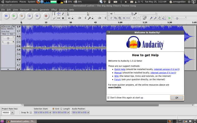 Audacity in Wikipedia.org