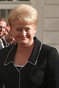 English: President of Lithuania Dalia Grybauskaite