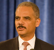 English: Eric Holder at Obama-Biden National S...