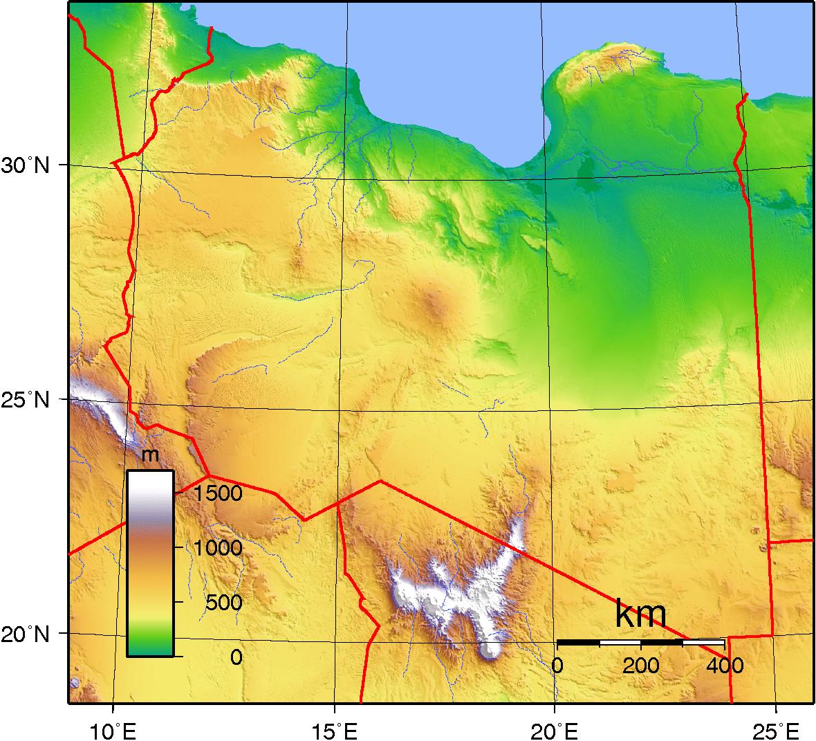جغرافيا ليبيا ويكيبيديا