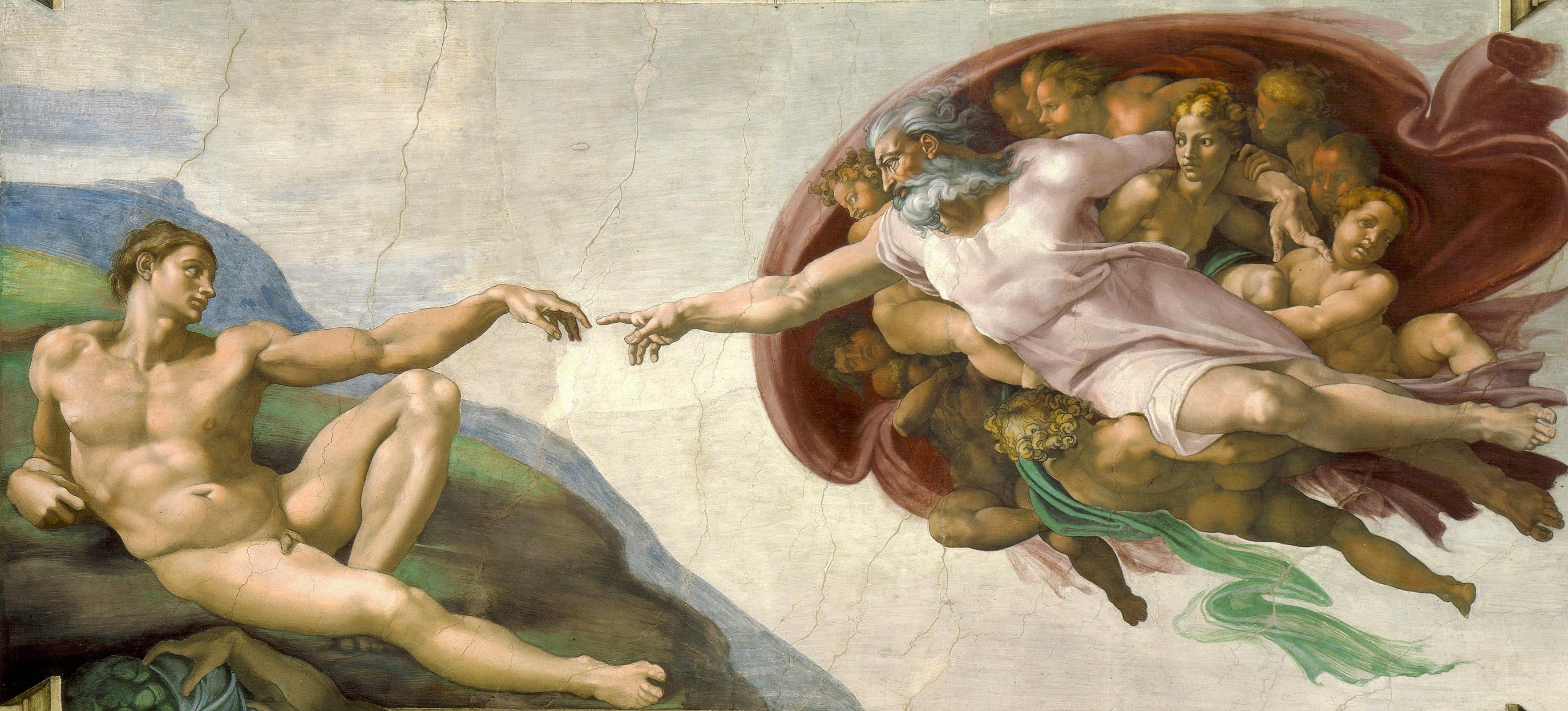 The Creation of Adam - Wikipedia