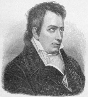 Ludwig Tieck nach einem Gemälde von Joseph Karl Stieler aus dem Jahr 1838